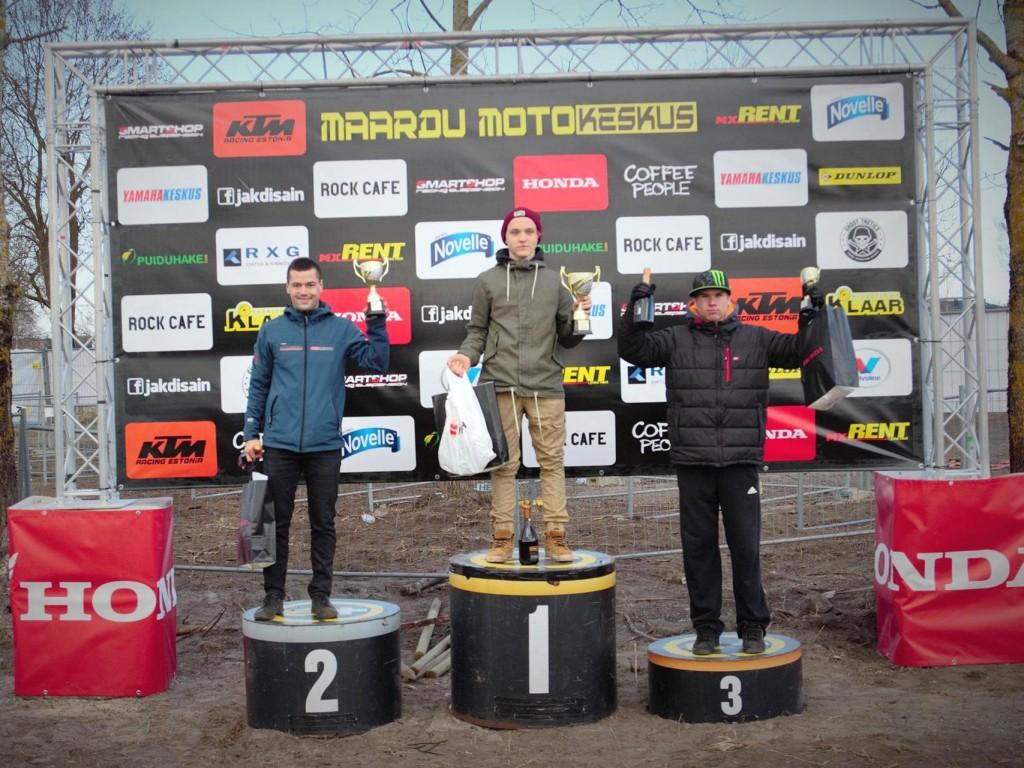 Siim Vaide (Redmoto Racing) 2. koht