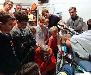 Bahco tööriistakeskuses toimus mootorratta hoolduse õpituba Redmoto noorsportlastele
